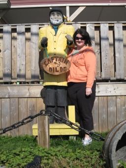 """Meeting """"Captain Dildo"""" in Dildo, Newfoundland"""