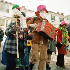 Newfoundland Mummers welcoming the holidays!